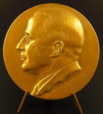 Médaille ets J Laroche Lechat Gand Belgique à Mr Fernand Van Camp 1935 medal
