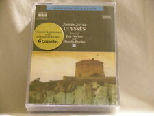 James Joyce ULYSSES Jim Norton Marcella Riordan SEALED 4 x CASSETTE TAPE set