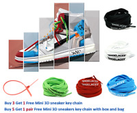 Replacement Laces Custom Shoelaces For Off White Sneaker With Color Zip Tie Tag