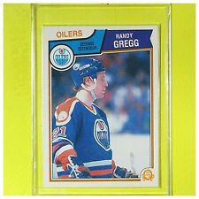RANDY GREGG  1983-84  ROOKIE   OPC   #28   Edmonton Oilers