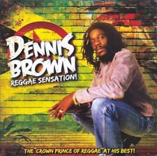 DENNIS BROWN - REGGAE SENSATION (NEW SEALED CD )