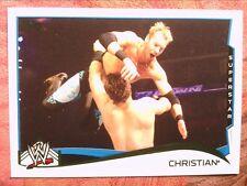 WRESTLING   2014   TOPPS  WWE    #  61   CHRISTAIN