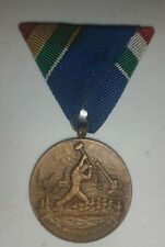 Vintage Hungarian Ambassador Flood Defender Protection Medal Flood Protection