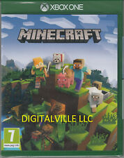 Minecraft Xbox One Physical Game Open box in mint condition