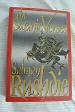 The Satanic Verses - Salman Rushdie - Hardcover 10th Printing HC DJ