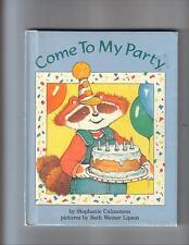Come To My Party---Stephanie Calmenson---Beth Weiner Lipson---first1991---HC---
