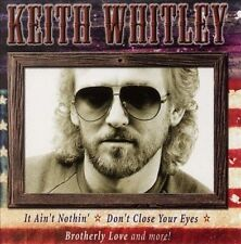 FREE US SH (int'l sh=$0-$3) NEW CD Keith Whitley: All American Country