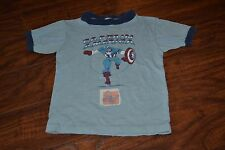 I4- Vintage Captain America Marvel Comics Group 1975 Kids Shirt