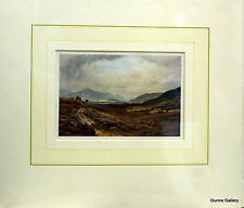Vintage Print Sutton Palmer mounted to frame  c1914 Perthshire