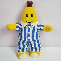 "Bananas in Pajamas Tomy Plush Stuffed Animal 8"" Toy Yellow"
