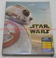 Star Wars VII The Force Awakens First Limited Edition Blu-ray DVD MovieNEX Japan