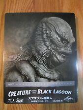 Creature from the Black Lagoon Bluray Steelbook Japan Amazon Grail