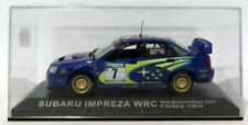 Voitures de courses miniatures Altaya pour Subaru