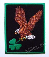 Ireland Irish Pride Eagle Holding Clover Patch (Large)
