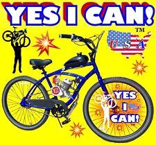 2-Stroke 66cc/80cc Motorized Bike Kit And Classic Cruiser Bike Do It Yourself