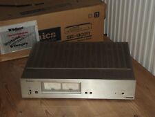 VINTAGE TECHNICS SE-9021 DC STEREO POWER AMPLIFIER AUDIOPHILE AMP BOXED TWIN VU