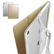 iPad 9.7 2018 Tablet Case, Shockproof Thin Cover w/Pencil Holder Champion Gold
