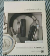 Audio-Technica ATH-M50S/LE Headphones - Silver 50th Anniversary Edition BRANDNEW