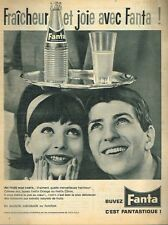 K- Publicité Advertising 1962 Boisson soda Fanta