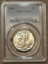 1944  MS 65 Walking Liberty Half Dollar 50c US Coin PCGS Certified