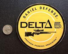 DANIEL DEFENSE DELTA 5 STICKER DECAL FIREARMS GUNS RARE