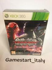 TEKKEN TAG TOURNAMENT 2 siamo TEKKEN LIMITED COLLECTOR'S EDITION XBOX 360-NUOVO