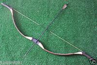 45 LBs Handmade Mongolian Longbow Recurve Bow For Archery Hunting