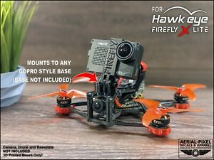 Hawk Eye Firefly X Lite GoPro Compatible TPU Soft Mount with Naked Camera Mount