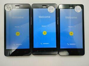 Lot of 3 Google Locked ZTE Maven 2 Z831 AT&T Check IMEI Grade A/B LR-670