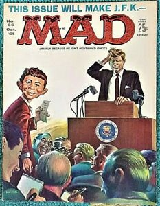MAD Magazine #66 Oct 1961 FN+/VERY FINE! 7.0. 99 Start! A TIGHT KILLER Copy!