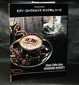 KINGDOM HEARTS PIANO COLLECTIONS MUSIC SCORE BOOK NEW