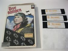 """Dive Bomber PC game complete 5.25"""" disks US Gold 1987"""
