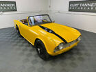 1963 Triumph TR4 1963 TRIUMPH TR-4 CONVERTIBLE. 1963 TRIUMPH TR-4 ROADSTER. WIRE WHEELS. NICELY RESTORED CAR WITH SUPERB BODY.