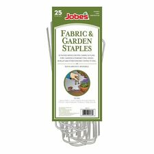 Lot of 250 Jobe's Steel Landscape Fabric Staples (10 Packs of 25) FREE SHIPPING!