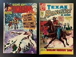 SON OF TOMAHAWK 139 & Texas Rangers 79 (last issue rare) - HIGHER GRADES