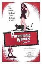 Les Femmes préhistoriques 1950 Poster 01 A3 Box Toile imprimer