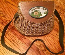 Vintage Edgewater Lodge Fishing Creel
