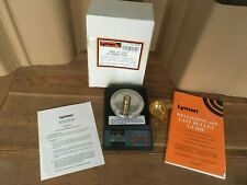 Lyman LE- 1000 ELECTRONIC Reloading Scales And Book,rifle hunting. working