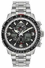 Citizen Eco-Drive Promaster Black Dial Skyhawk Chronograph Watch JY8070-54E