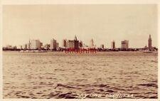 SKY LINE. MIAMI, FL photo post card