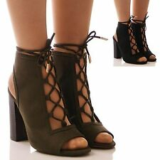 High Heel (3-4.5 in.) Faux Suede Party Shoes for Women