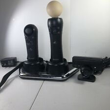 Playstation 3 Move Motion Navigation Controllers Charging Station PS3 Eye Camera