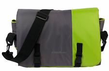 Eddie Bauer Portable Infant Travel Bed Messenger Bag Padded Mat Toy Bar 19x29