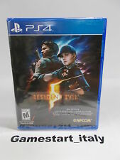RESIDENT EVIL 5 HD - SONY PS4 - NUOVO SIGILLATO NEW GIOCO IN ITALIANO