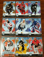 2007-08 Upper Deck Mini Jersey 9 card LOT see description for details- awesome!