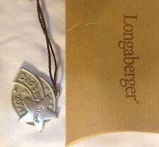 Longaberger 2004 Father's DayTie on New in Box Dad'S My Star