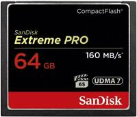 SanDisk Extreme PRO 64GB CF Card UDMA7 160MB/s 64G CompactFlash Memory Card 64