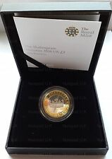 The Shakespeare Histories 2016 UK £2 Silver Proof Commemorative Two Pound Coin