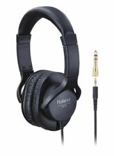 Roland RH-5 Closed Back Stereo Headphones - Black