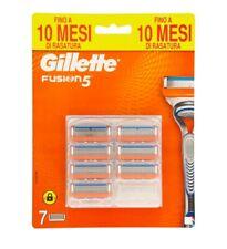 Gillette Fusion5 lame di ricambio per rasoio 7 pezzi. Originale. Nuove.